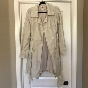 Tulle XL lightweight trench coat